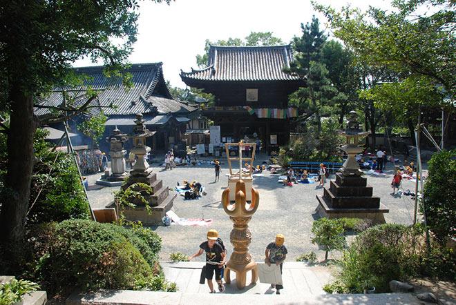 Храм в Мацуяме