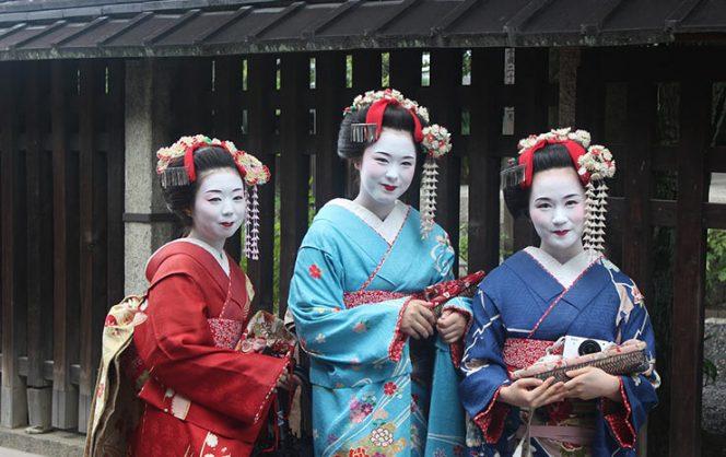 кто такие гейши в Японии