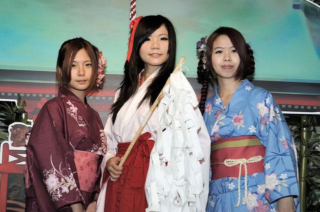 юката в Японии