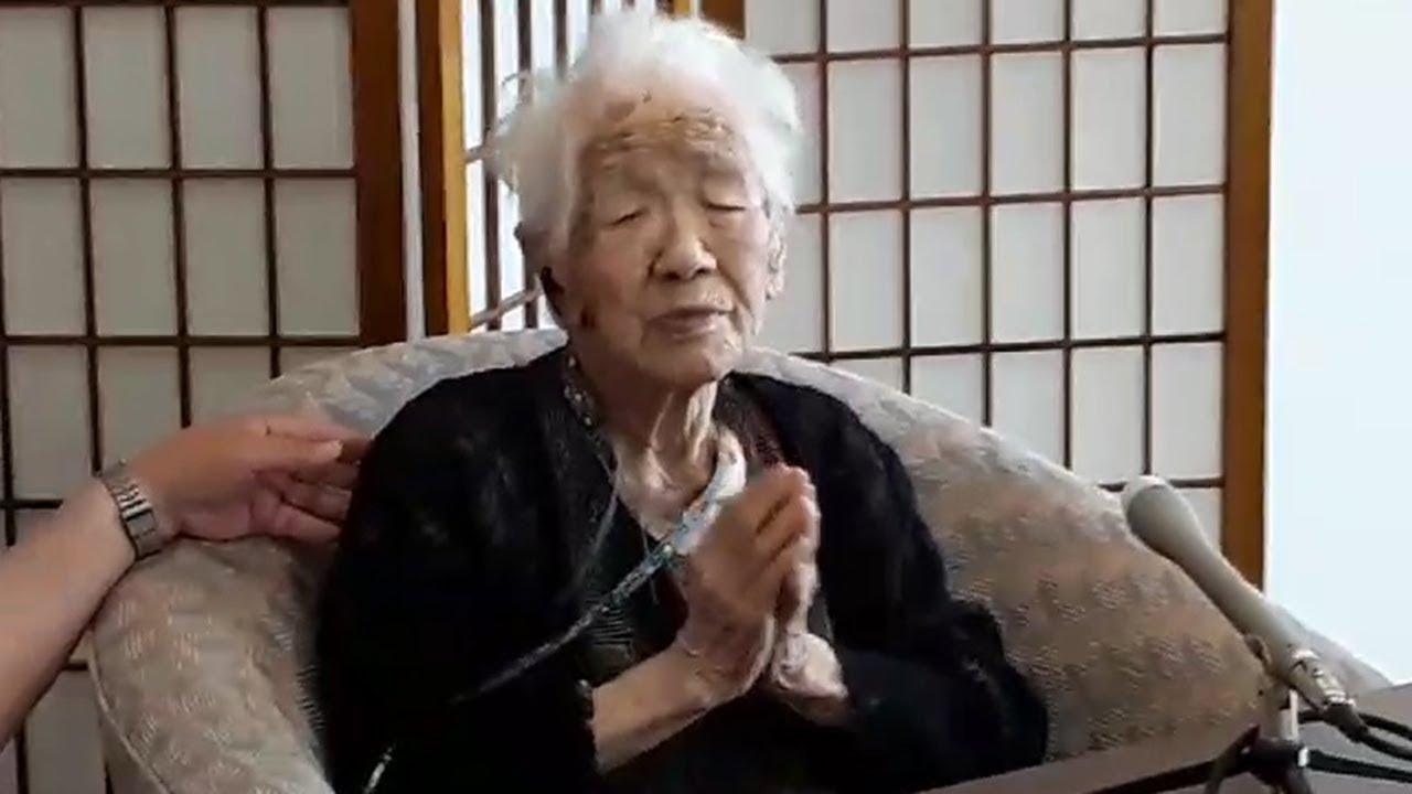 Кане Танака 115 лет