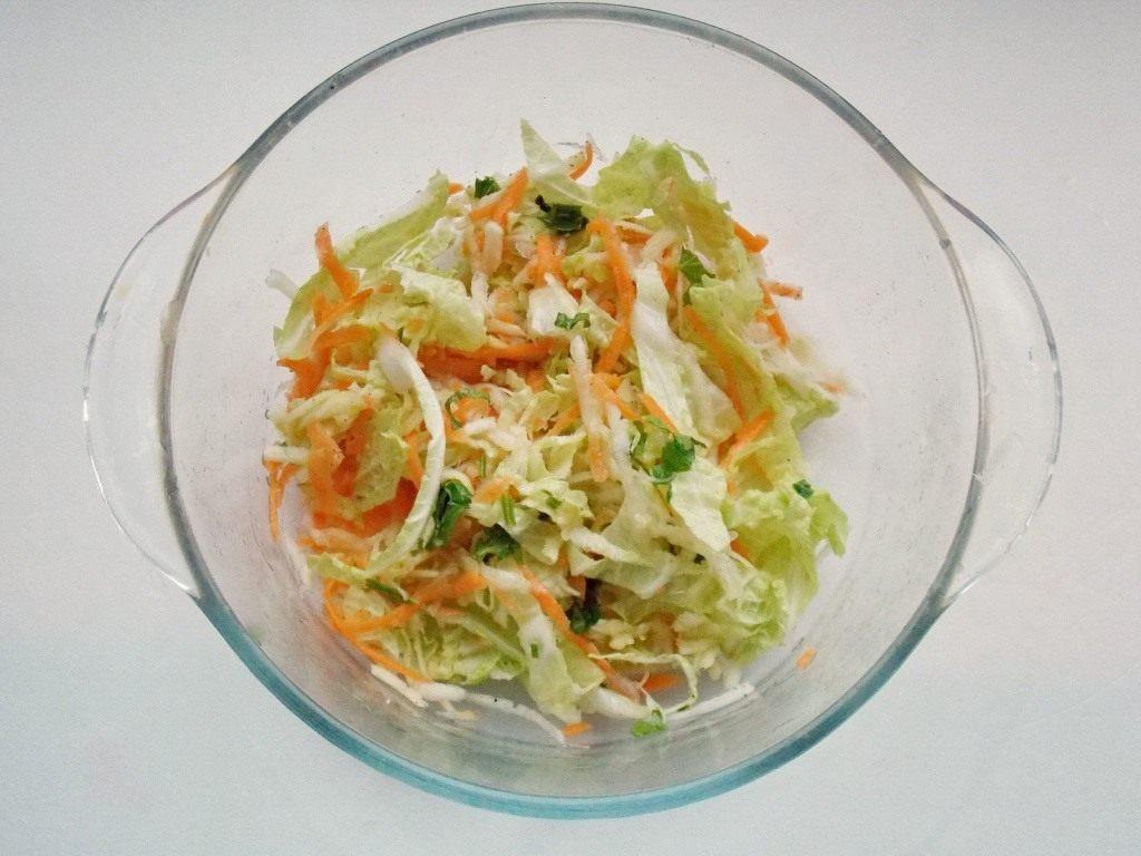 Салат из моркови и пекинской капусты – кладезь витаминов