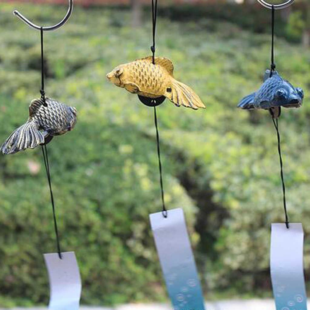 Японские колокольчики в форме рыб