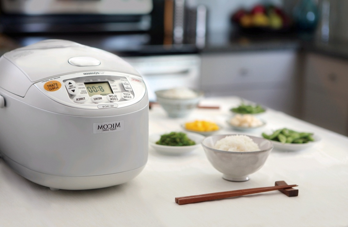 Рисоварка – полезный подарок из Японии