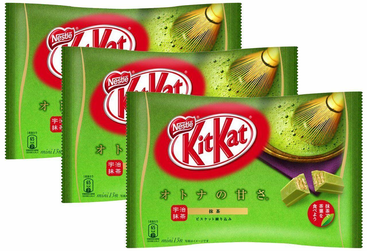 KitKat с зеленым чаем